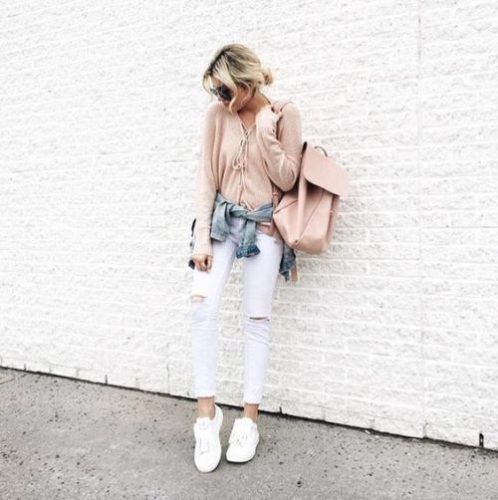 Outfit Ideas In Blush Pink Just Trendy Girls
