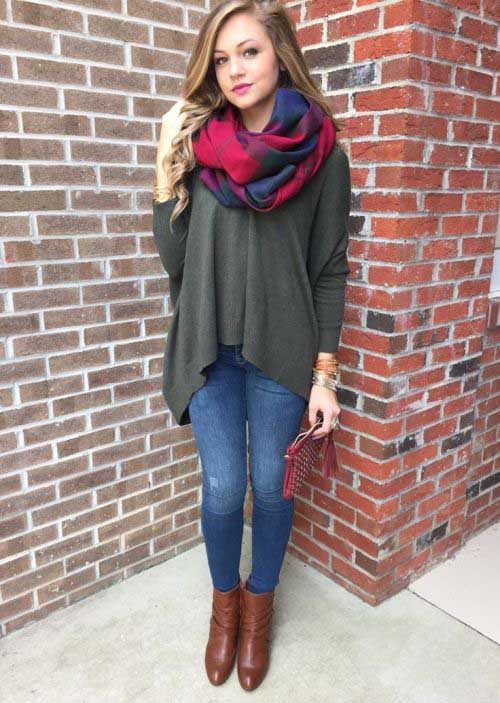 red-turtan-zara-scarf-outfit