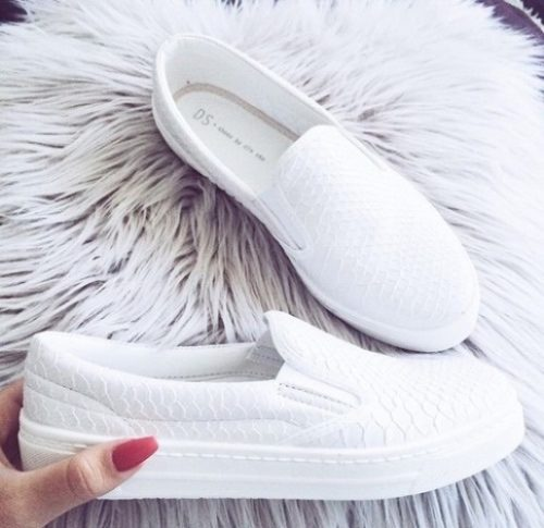 white-slip-on-shoes