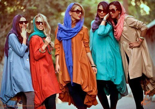 Iranian women fashion trend