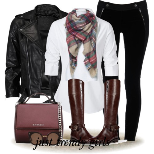 black-leather-jacket-with-maroon-bag