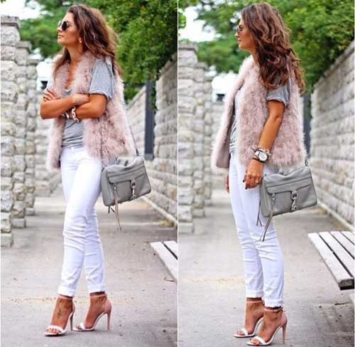 blush-fur-vest-with-white-jeans