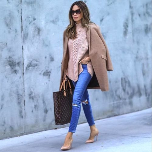 camel-coat-with-tan-sweater