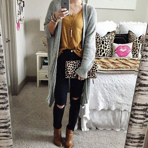 grey-knit-long-cardigan-outfit