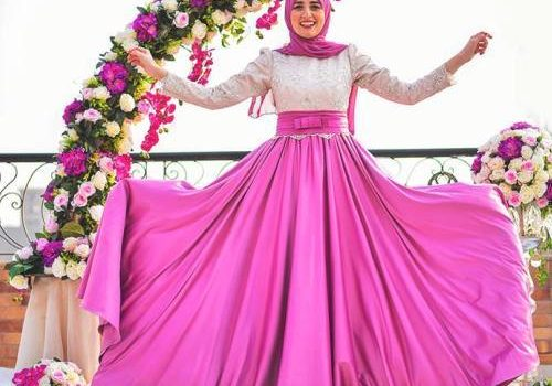 Beautiful hijab evening dresses