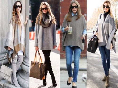 how-to-wear-poncho