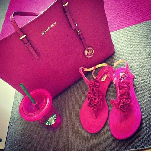 michael-kors-hot-pink-bag
