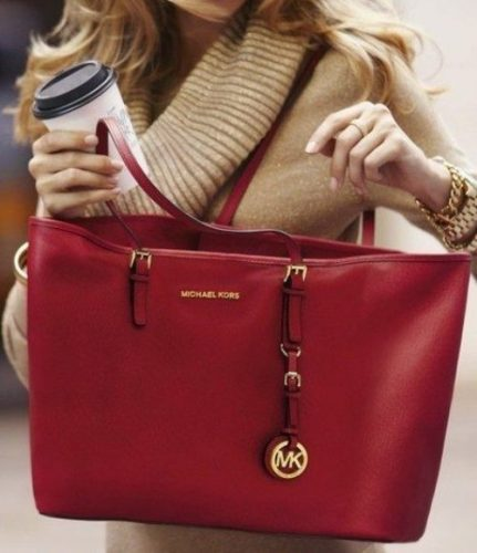 michael-kors-red-tote-bag