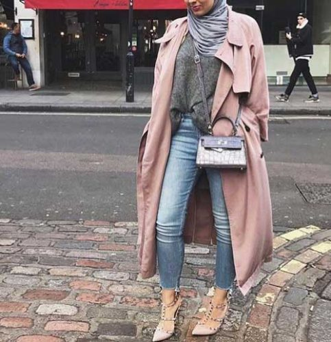 pink-trench-coat-hijab-look