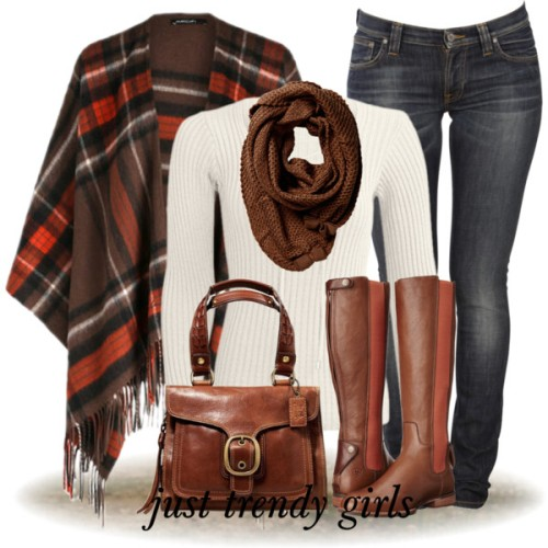 plaid-blanket-poncho-outfit