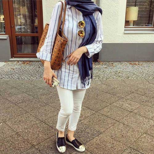 striped-shirt-hijab-outfit