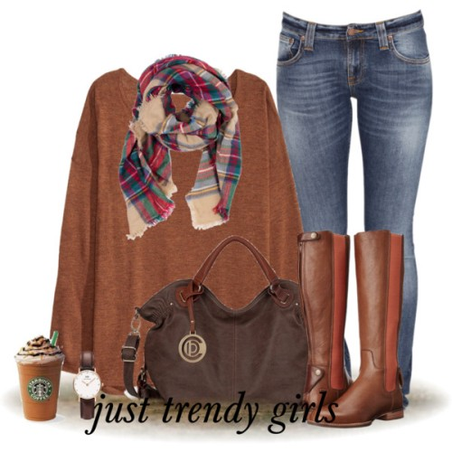 tan-sweater-scarf-outfit