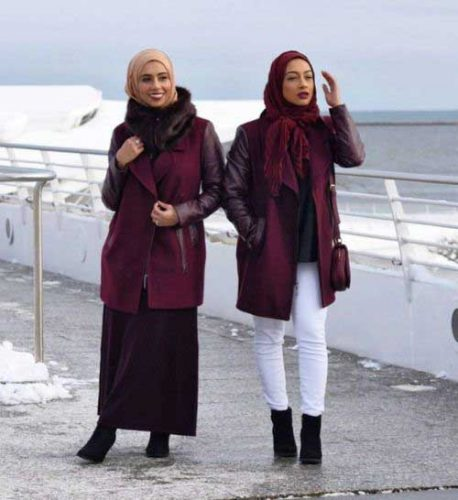 winter-hijab-look-with-maroon-coats