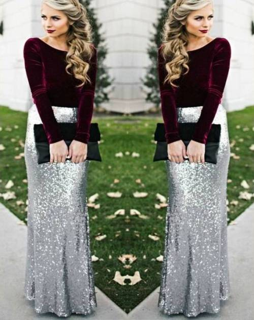 219ff40ca How to rock the sequin skirts | | Just Trendy Girls
