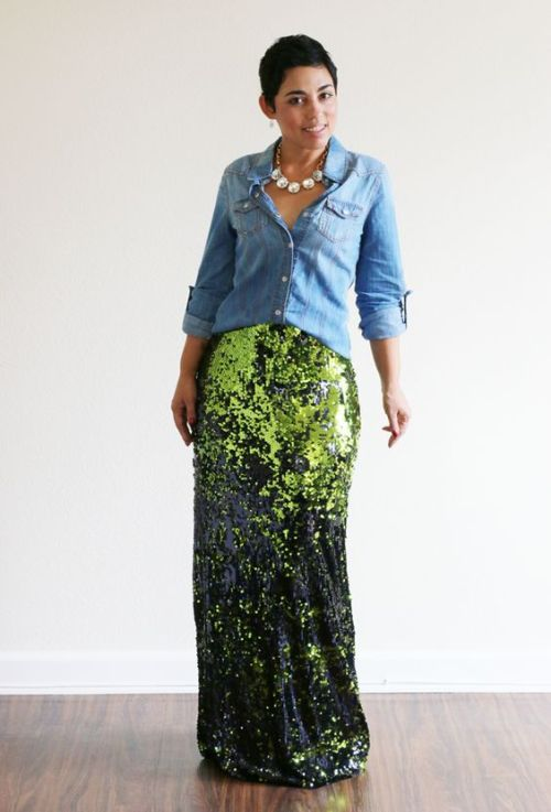 mimi-g-green-diy-sequin-maxi-skirt