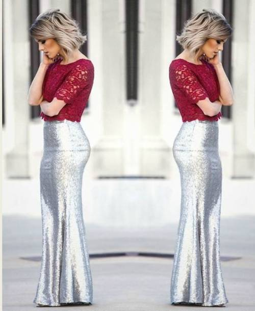 5034e10109 How to rock the sequin skirts | | Just Trendy Girls