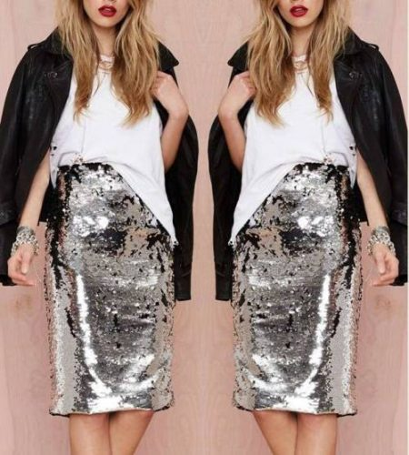 sequin-silver-pencil-skirt