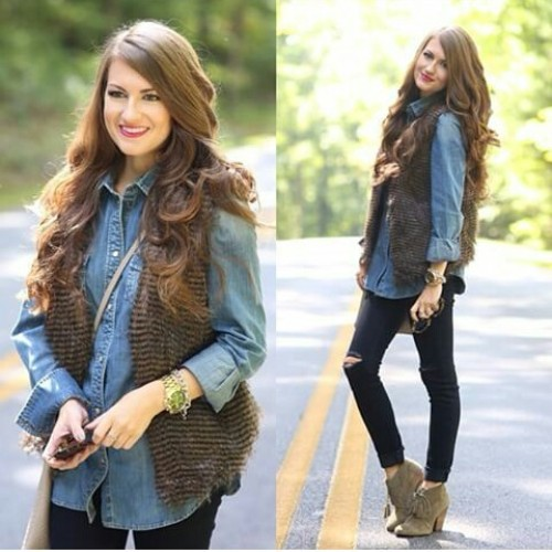 brown-fur-vest-with-denim-flannel