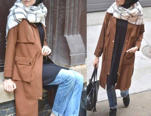 camel-trench-coat-hijab-outfit
