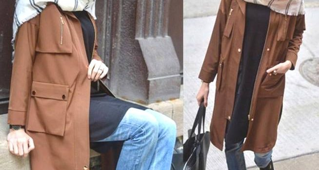 Winter hijab fashion outfits