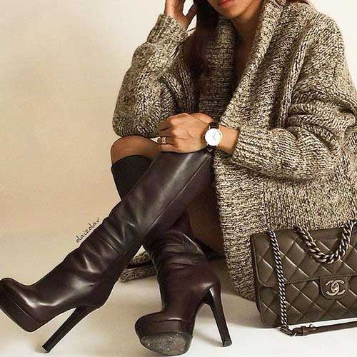chunky-grey-cardigan-withtall-high-heel-boots