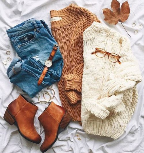 chunky-knit-sweaters-outfit