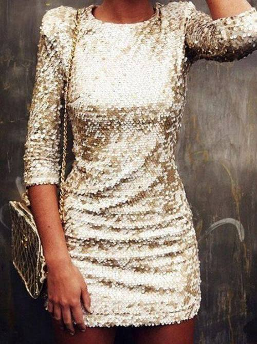 golden-sequin-dress
