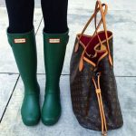 How to rock the hunter rain boots