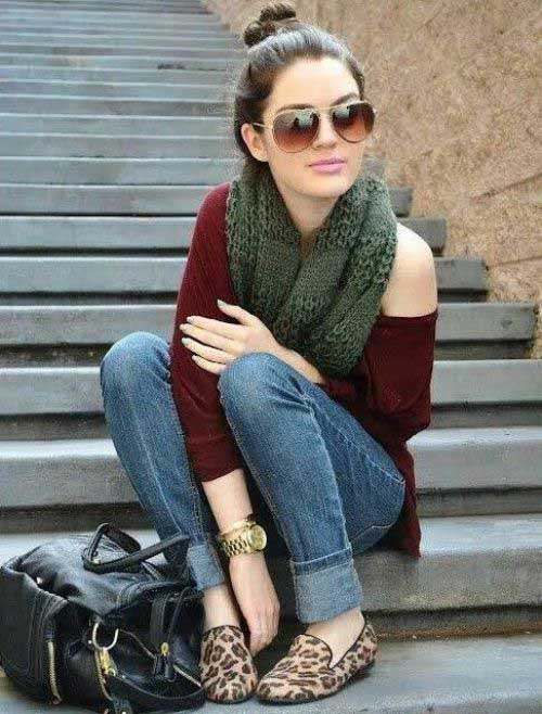 knit-green-scarf-outfit