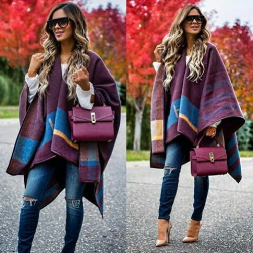 maroon-blanket-outfit