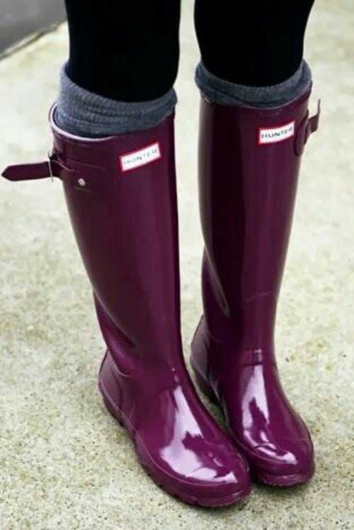 maroon-hunter-boots