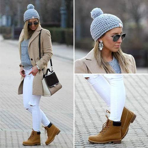 neutral-fall-outfit-with-timberland-boots