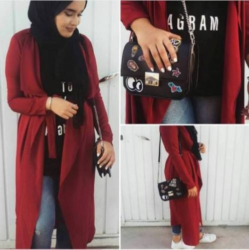 red-trench-coat-smart-hijab