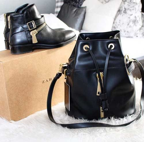 zara-boots-and-black-backpack