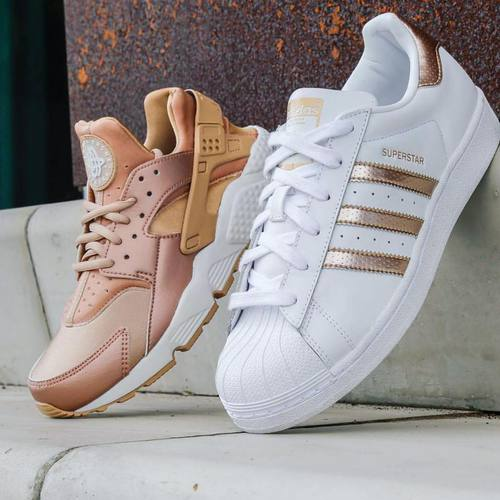 adidas-white-and-peach