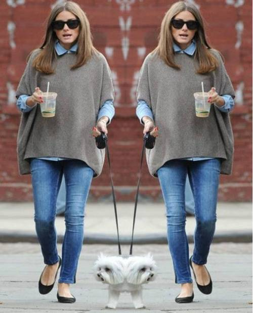 grey-cape-with-denim-flannel
