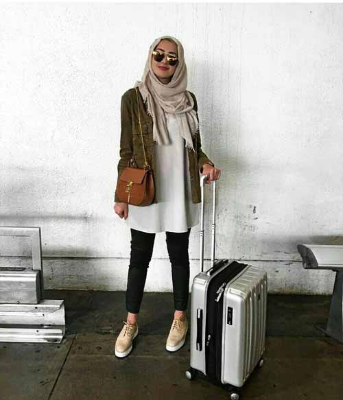 Hijabi Traveling Style Just Trendy Girls