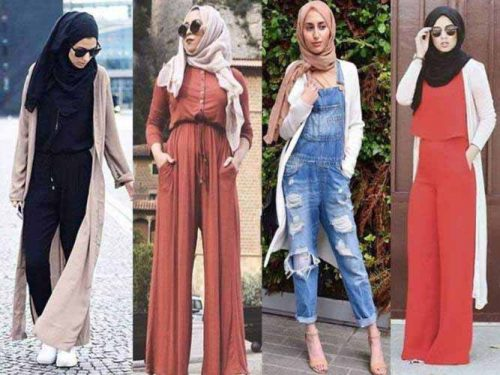 d6b63ebc3f39 How to wear jumpsuits with hijab – Just Trendy Girls