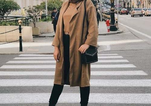Casual hijab clothing for woman