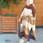 New winter  hijab fashion looks