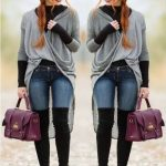 How to rock over the knee boots