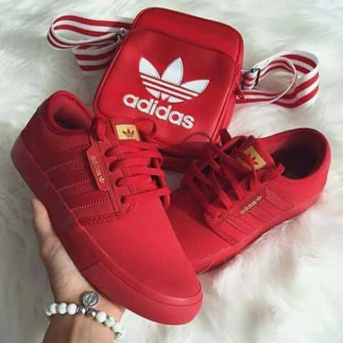 red-adidas-superstar