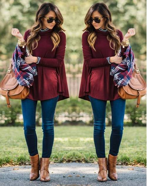 red-knit-cape-outfit