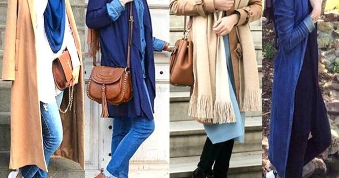 Best hijab colours to wear with denim