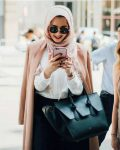 How to be elegant hijabista