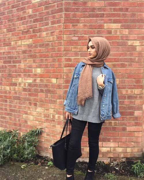 extraordinary outfit jacket jeans hijab men