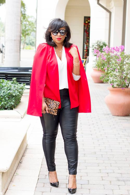 How To Style Cape Blazers Just Trendy Girls