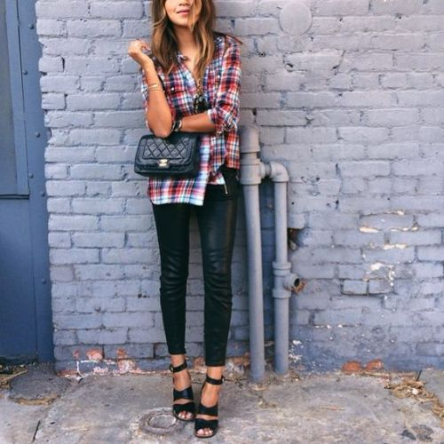 How to wear flannel shirts – Just Trendy Girls