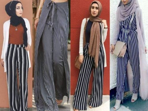 e0813be61d How to wear the striped palazzo pants – Just Trendy Girls