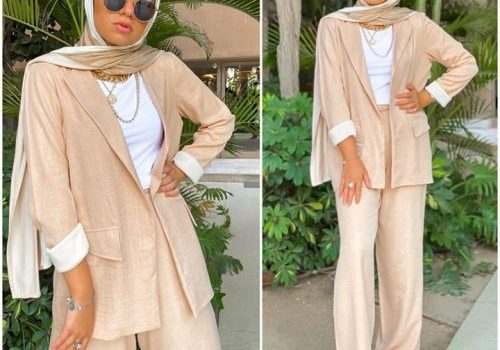 Spring casual outfits for hijabi women